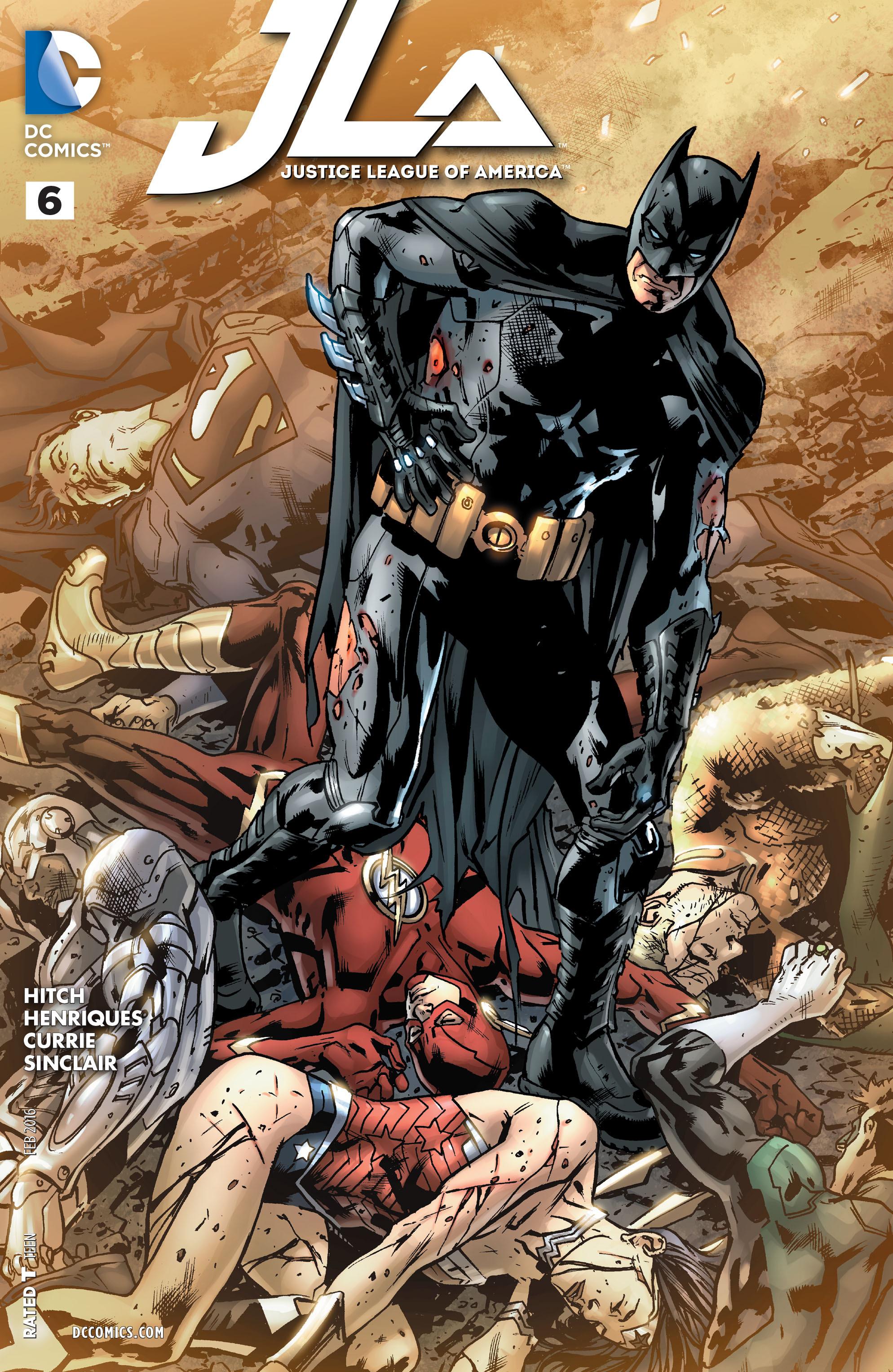 Justice League of America Vol 4 6