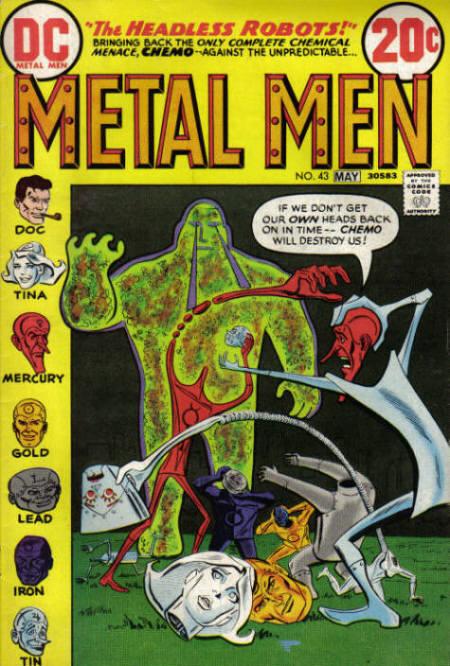 Metal Men Vol 1 43