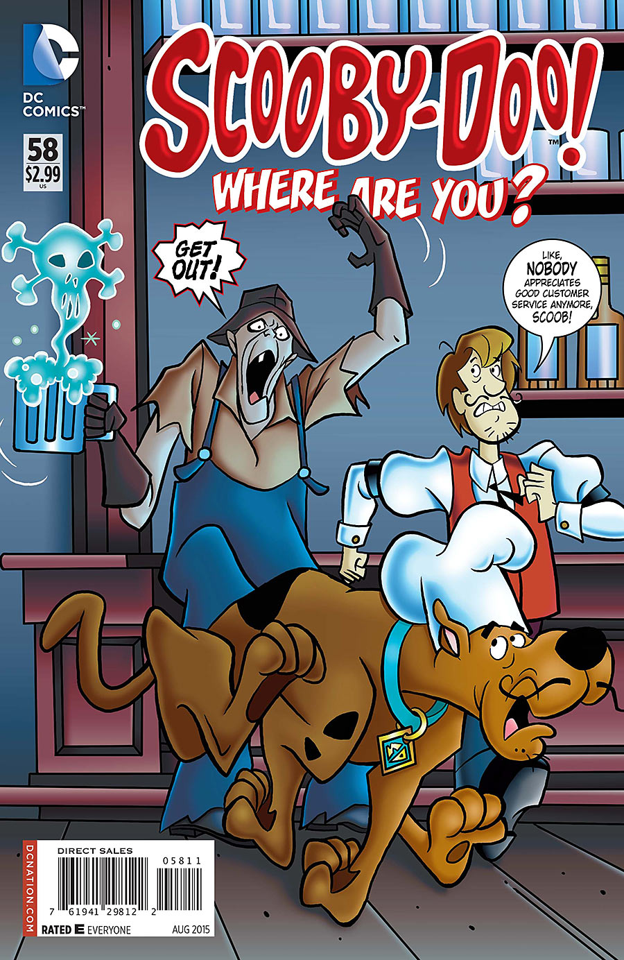 Scooby-Doo, Where Are You? Vol 1 58