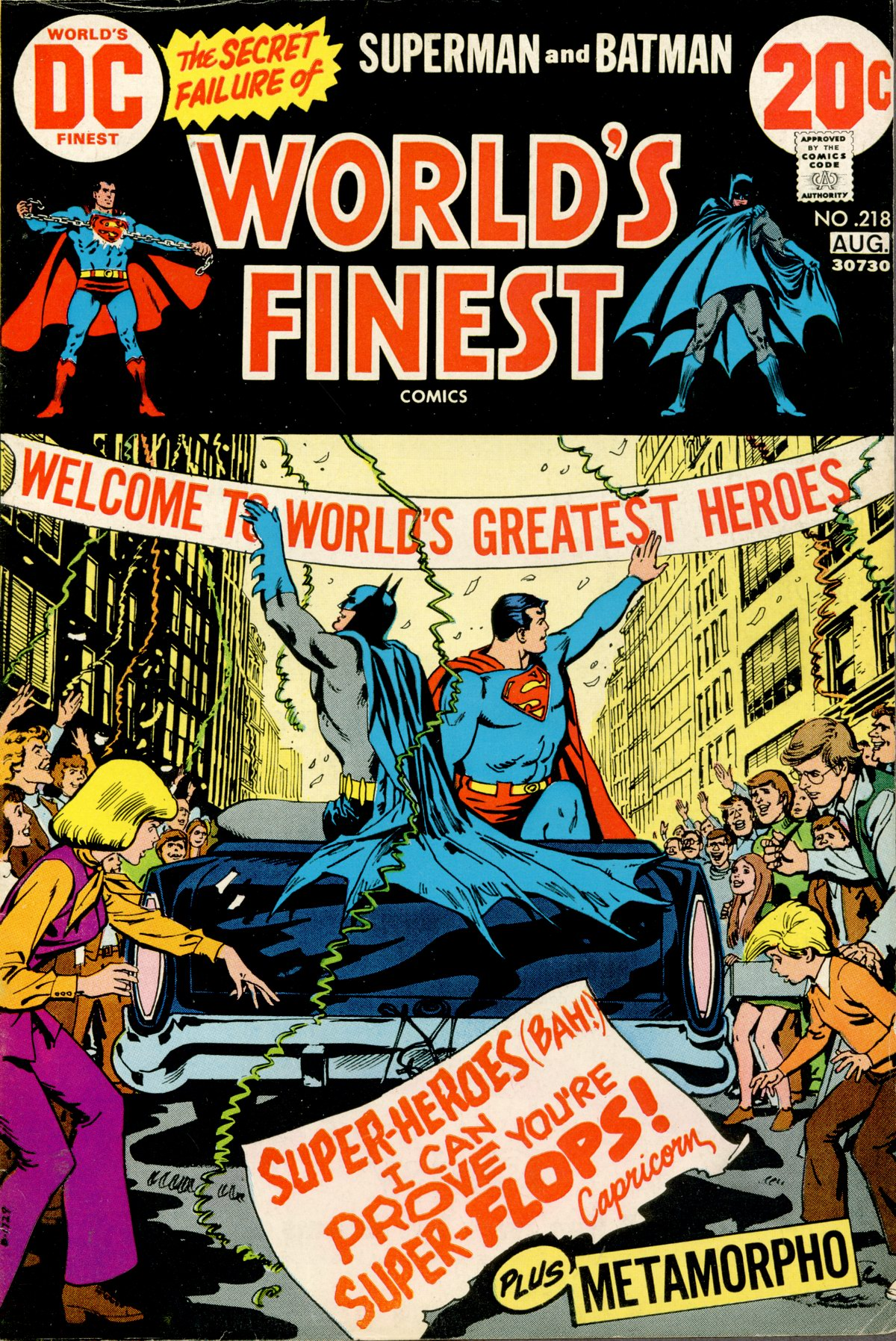 World's Finest Vol 1 218