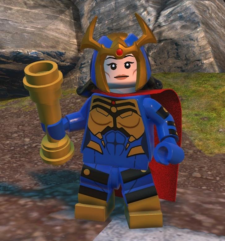 Big Barda (Lego Batman)