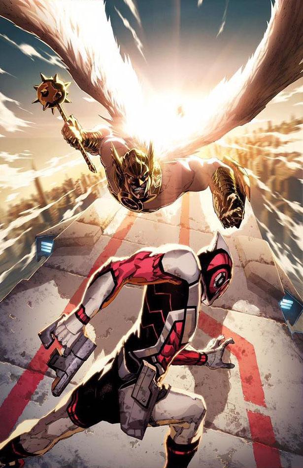 Death of Hawkman Vol 1 1 Textless Variant.jpg