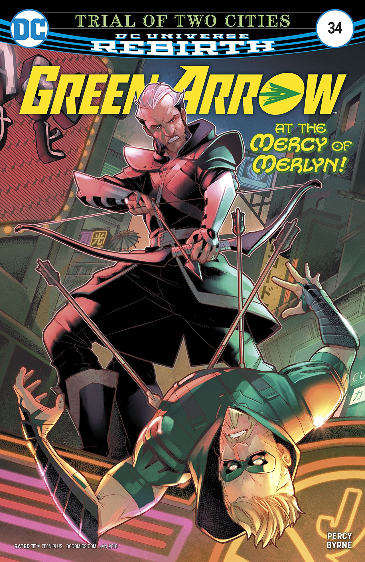 Green Arrow Vol 6 34