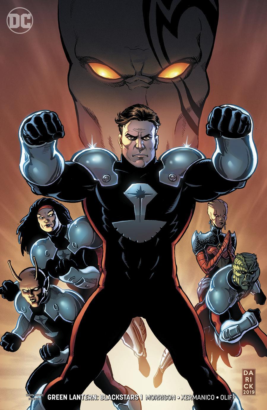 Green Lantern: Blackstars Vol 1 1
