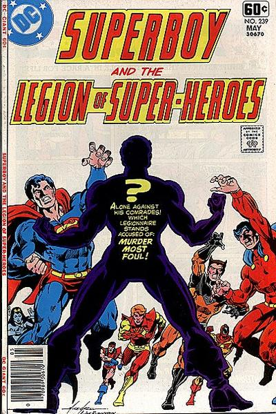 Superboy and the Legion of Super-Heroes Vol 1 239