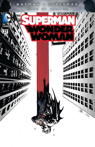 Batman v Superman Spotlight Variant