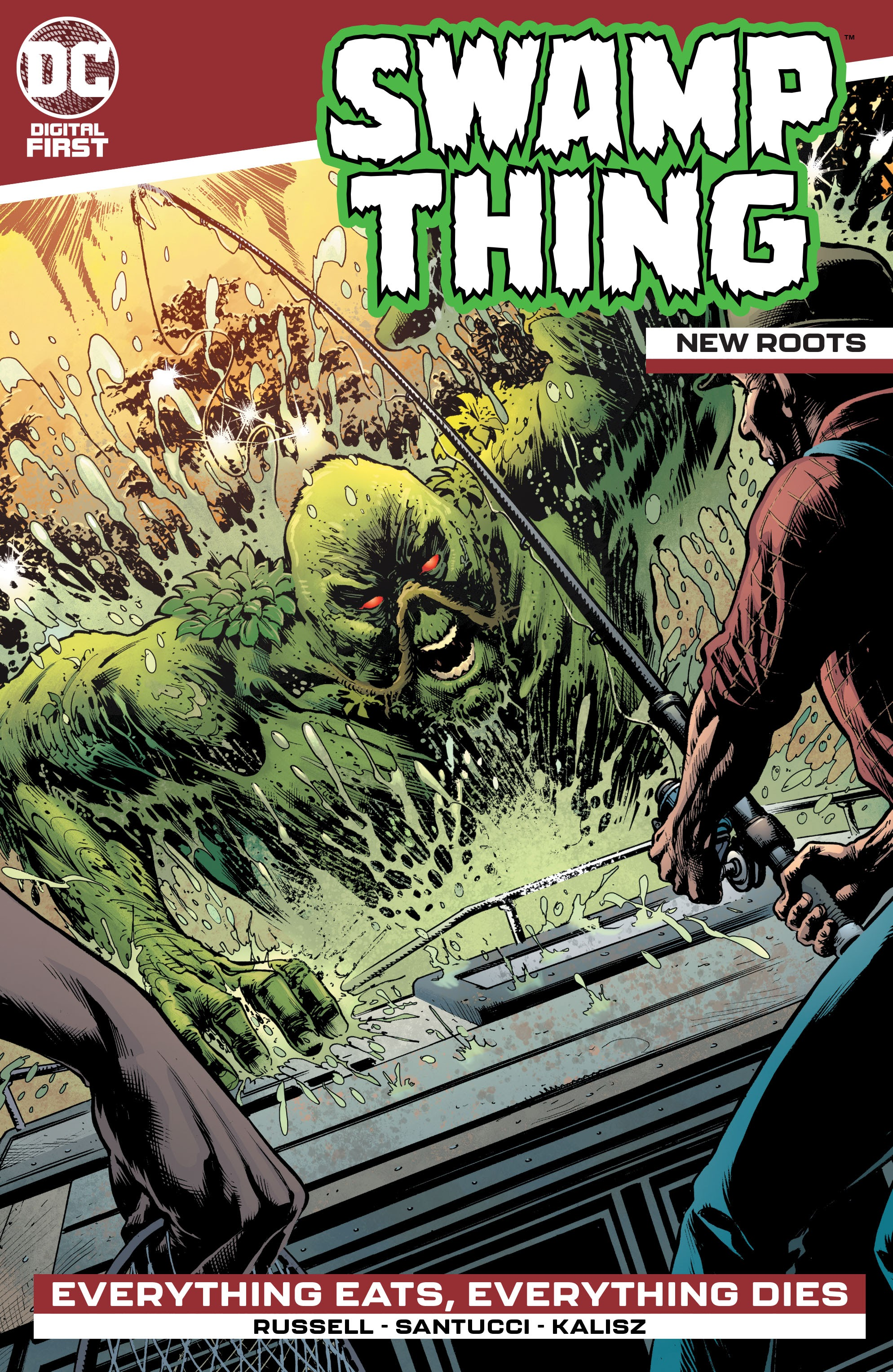 Swamp Thing: New Roots Vol 1 2 (Digital)