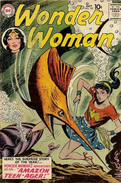 Wonder Woman Vol 1 107