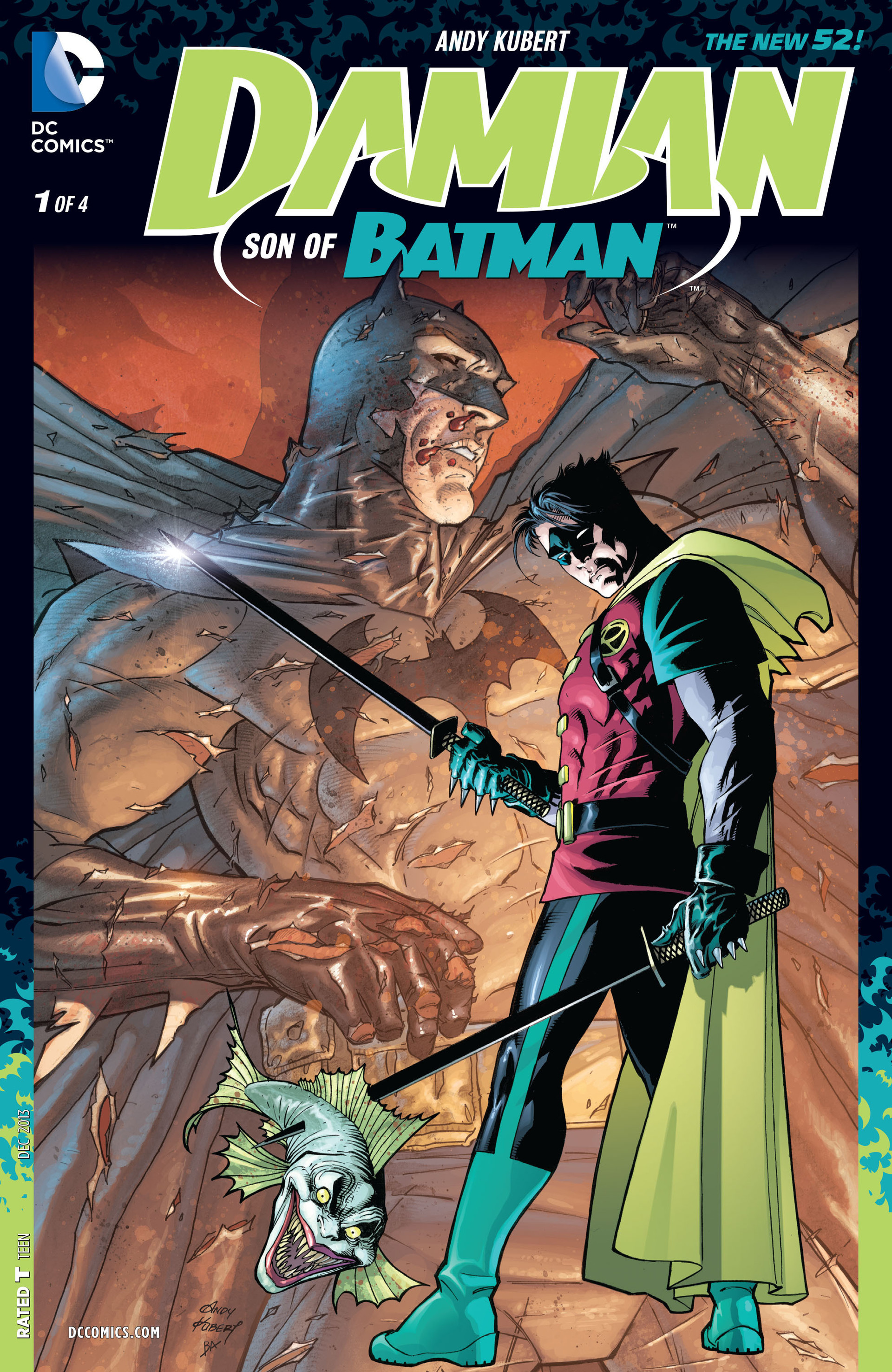 Damian: Son of Batman Vol 1 1