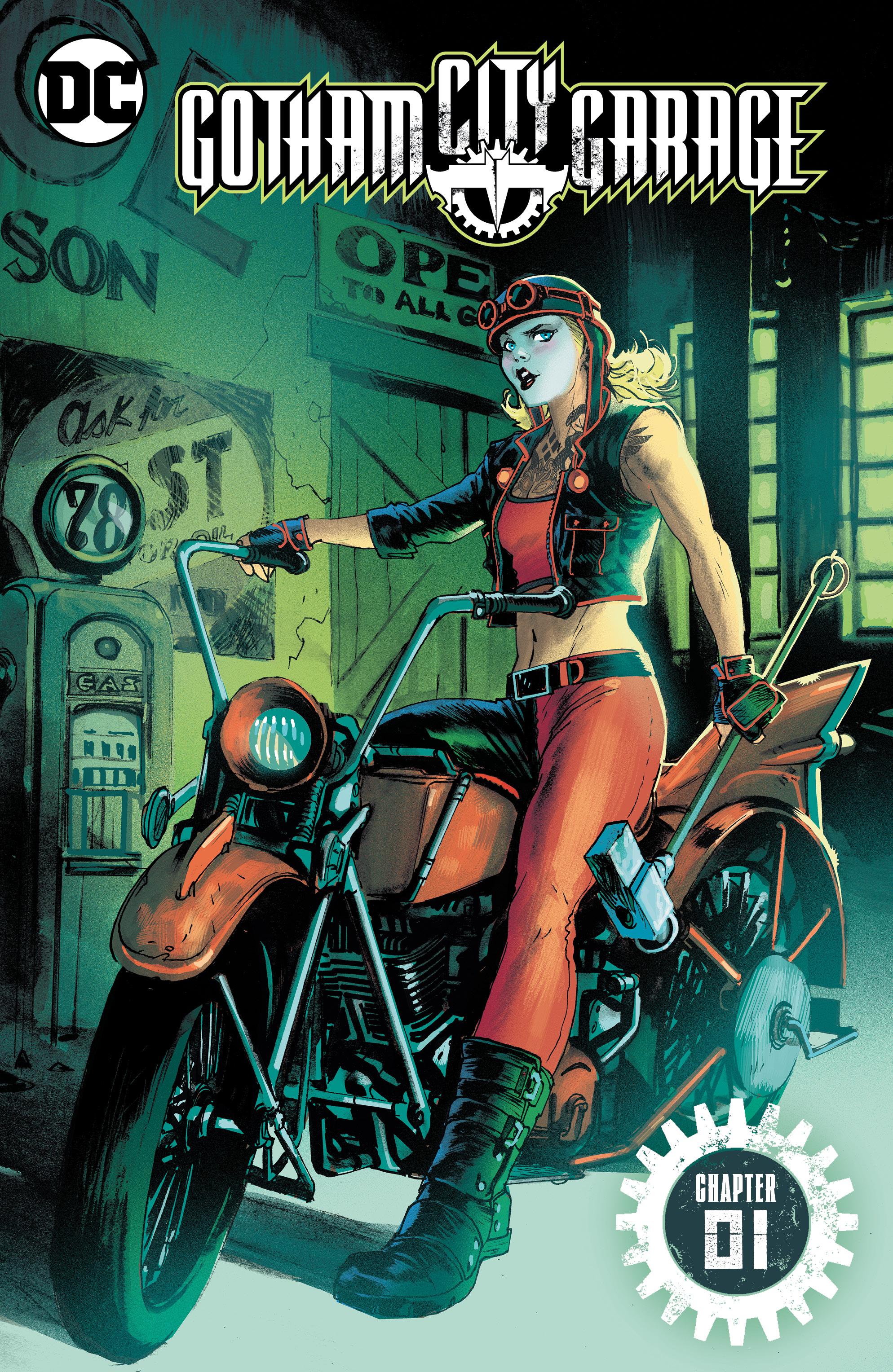 Gotham City Garage Vol 1 (Digital)