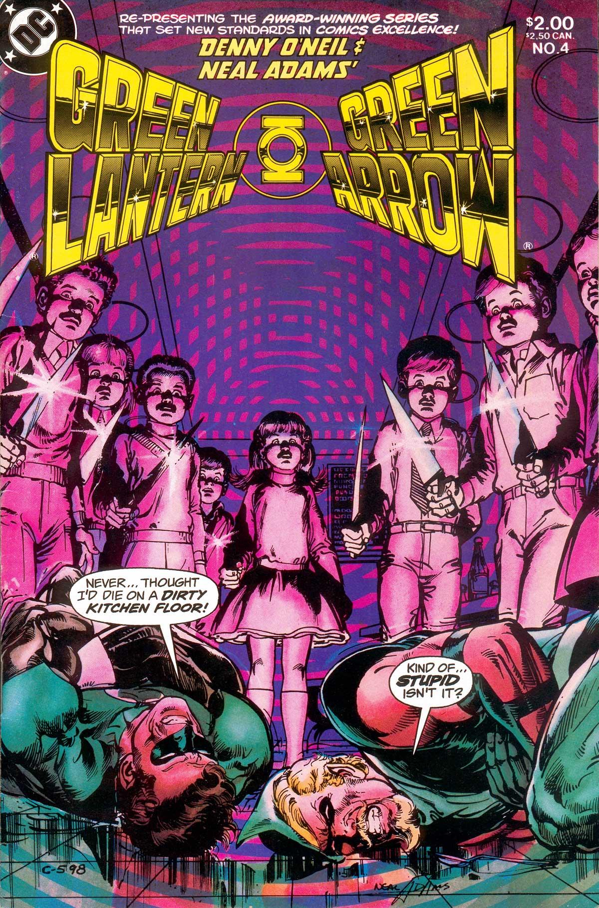 Green Lantern/Green Arrow Vol 1 4