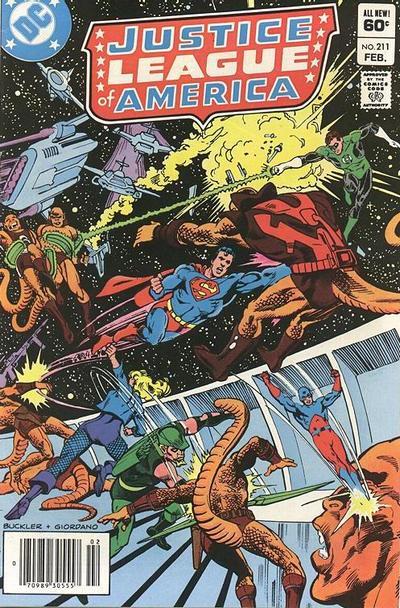 Justice League of America Vol 1 211