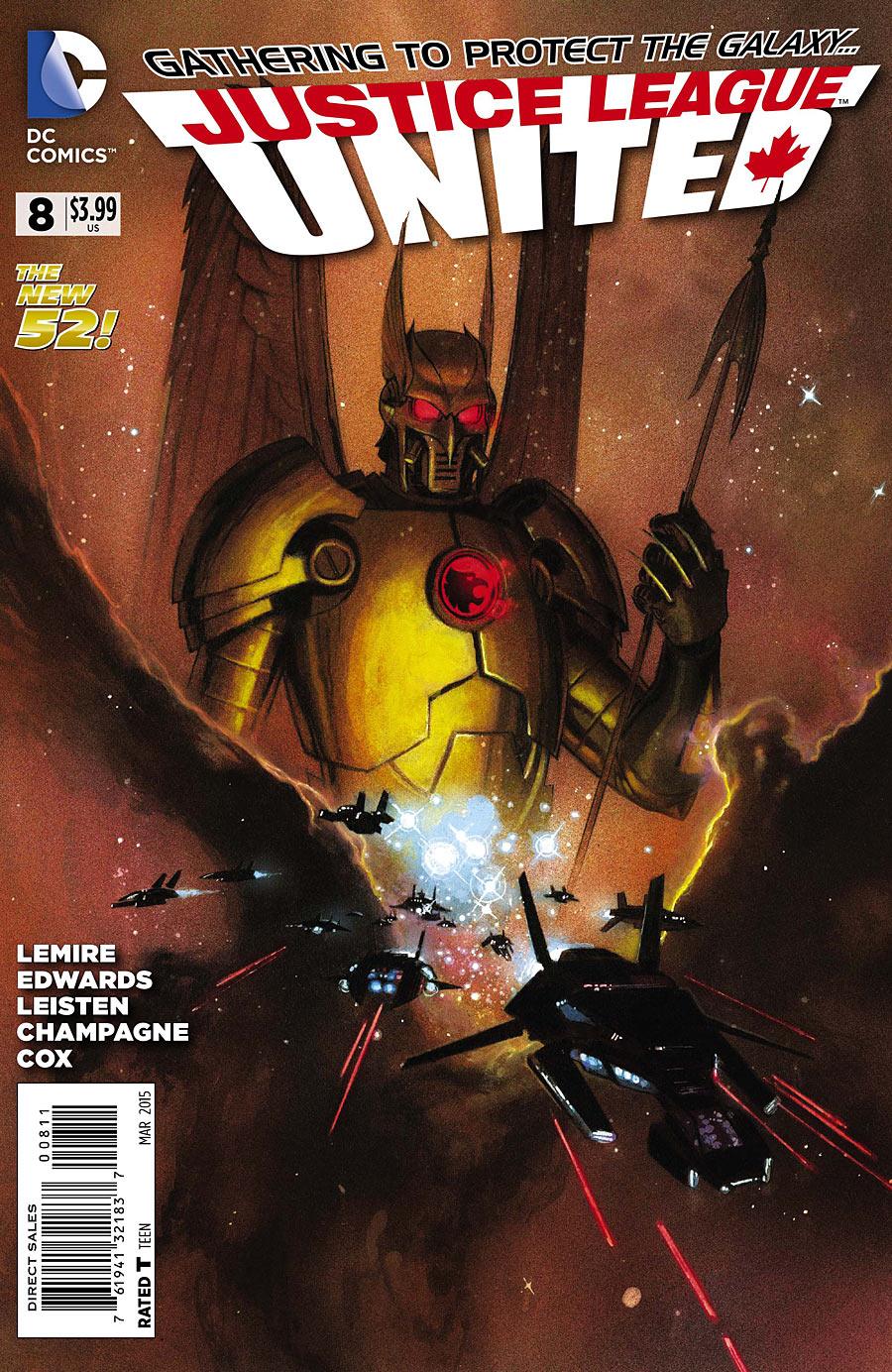 Justice League United Vol 1 8