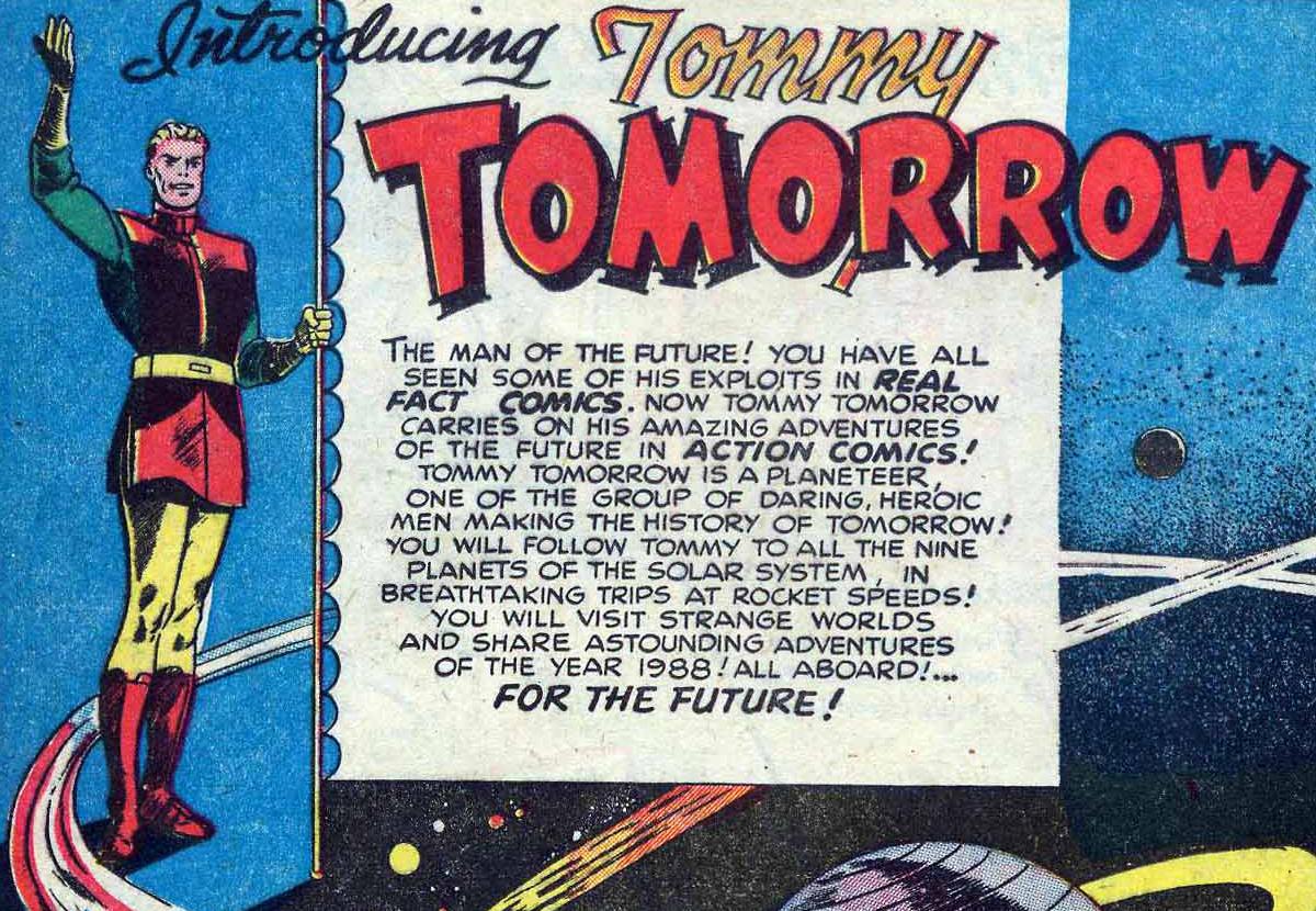 Thomas Tomorrow (Earth-54)