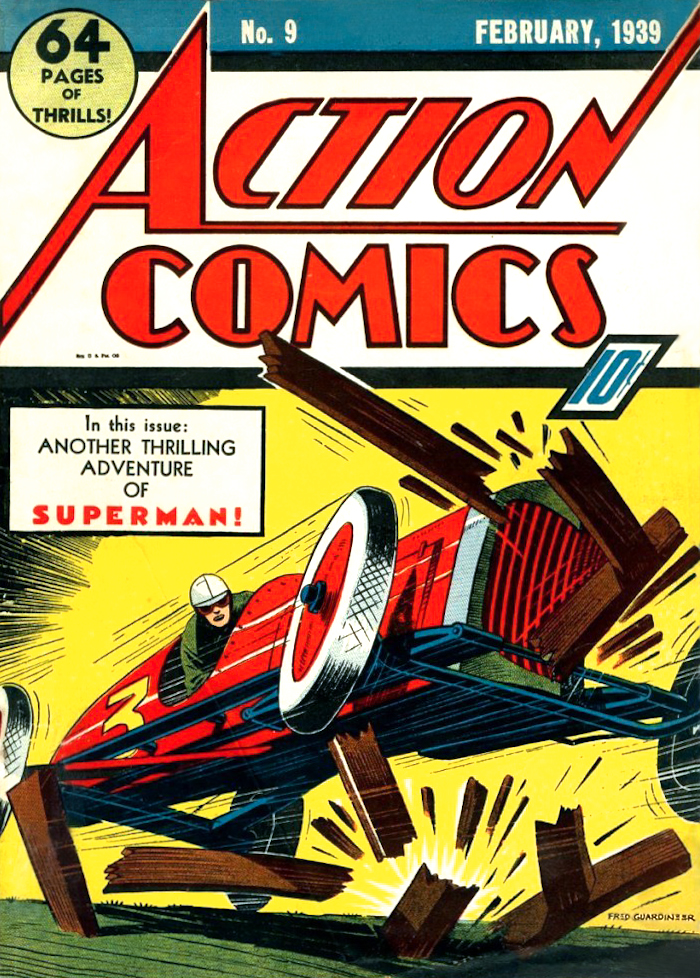 Action Comics Vol 1 9