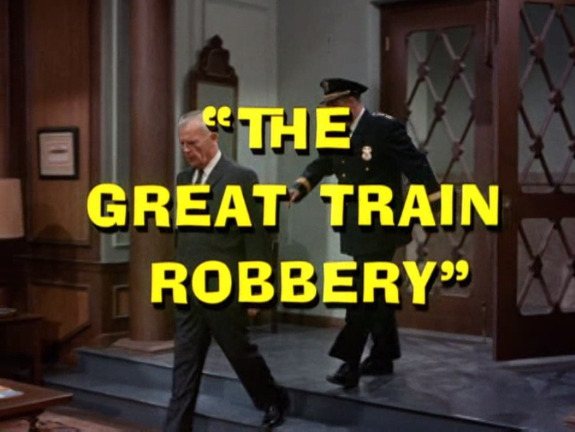 Batman (1966 TV Series) Episode: The Great Train Robbery