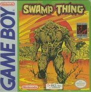 Swamp Thing Game Boy Box