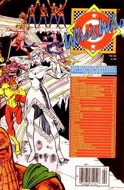 Who's Who: The Definitive Directory of the DC Universe Vol 1 12