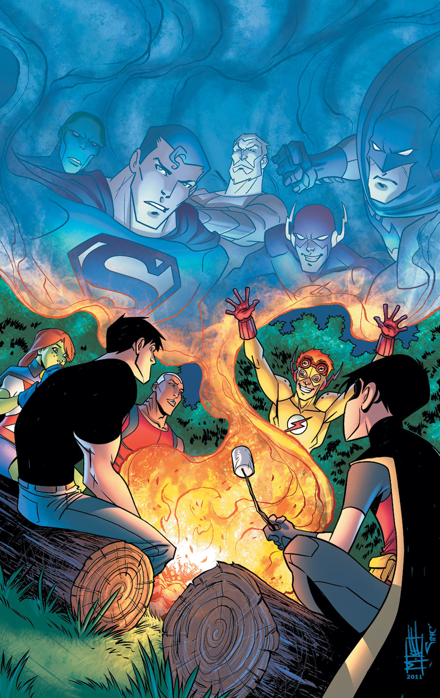 Young Justice Vol 2 5 Textless.jpg
