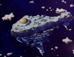 The Brotherhood headquarters inside Asteroid M
