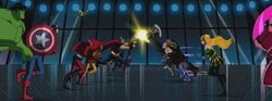 The Avengers face the Masters of Evil