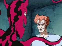 Kasady meets a symbiote