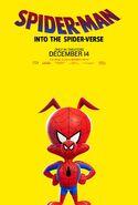 Spider-Man Into the Spider-Verse Spider-Ham Poster