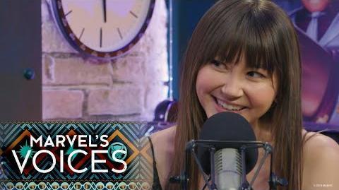 Kimiko Glenn on Marvel's Voices
