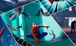 Spider-Man fighting another Doc Ock