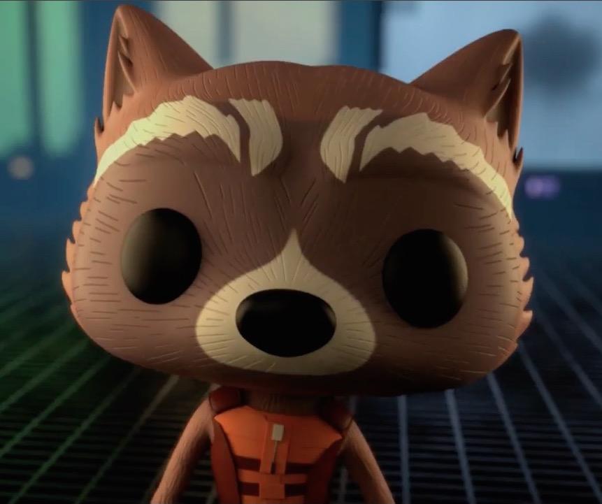 Rocket Raccoon (Funko Universe)