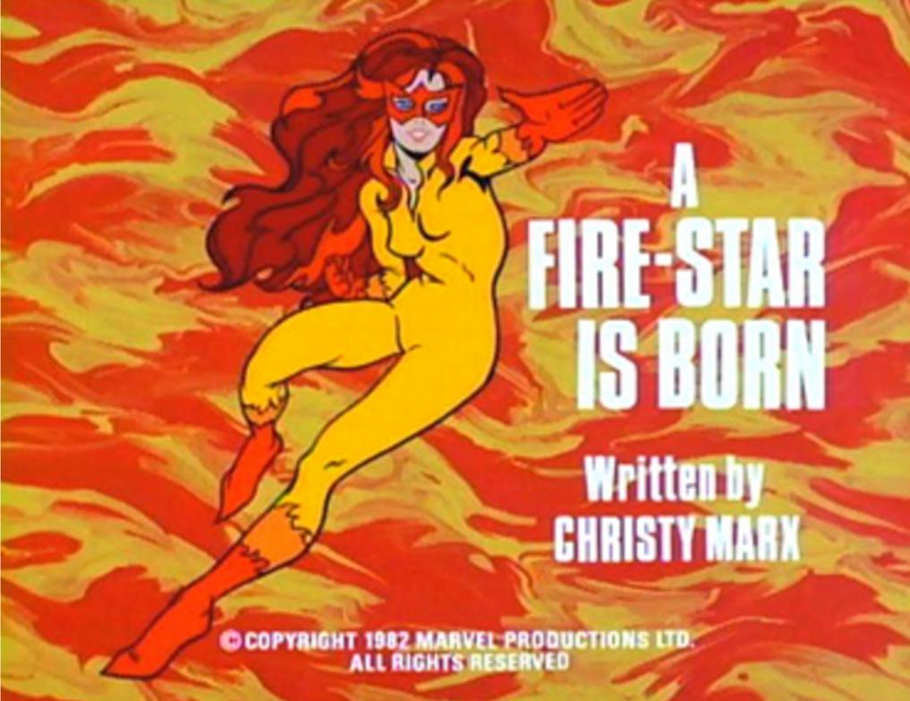 A Firestar Is Born