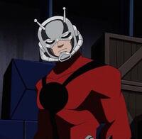 Full Ant-Man garb