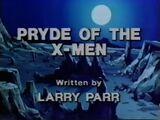 Pryde of the X-Men (TV Pilot)