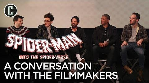 Spider-Man Into the Spider-Verse Filmmakers Question & Answer