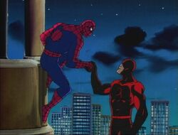 Daredevil and Spider-Man