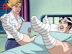 Doctor Stephen Strange after car accident