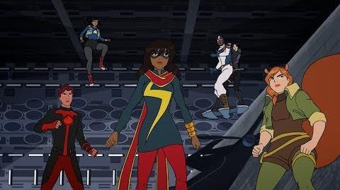 Marvel Rising Secret Warriors Full Trailer