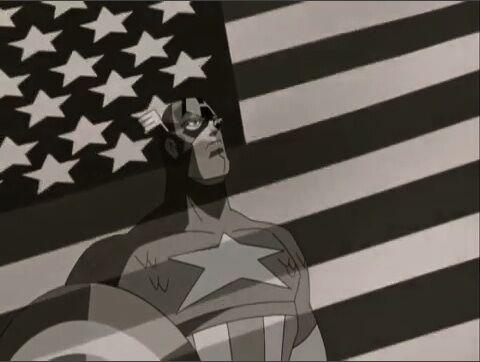 Captain America, the quintessential American hero