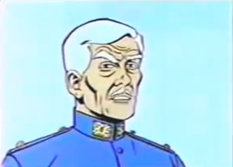 Captain Townsend (The Marvel Super Heroes)