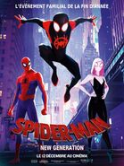 Spider-Man Into the Spider-Verse French Poster