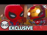 Spidey's Struggle is Real - Marvel Funko Presents- Magnet Mayhem (stars Spider-Man, Iron Man)