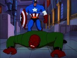 Red Skull vs. Captain America