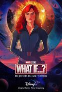 What If Poster Black Widow