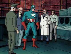 Captain America created.