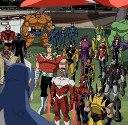 Captain America Addresses Assembled Heroes AEMH.jpg