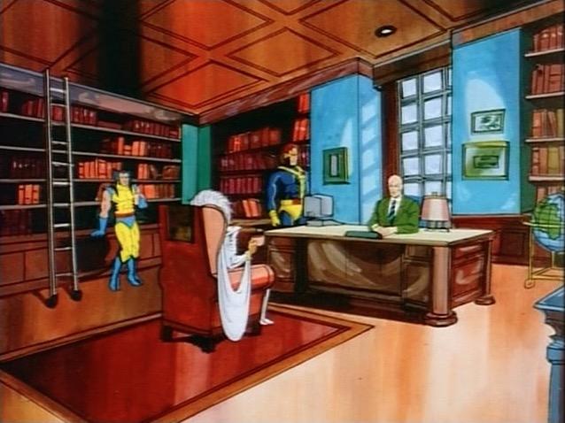 Xavier's Office