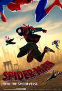 Spider-Man Into the Spider-Verse Second Poster
