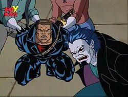 Blade and Morbius at Mirium's mercy.