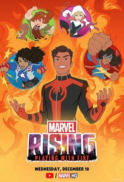 Marvel Rising Playing With Fire Poster.jpg