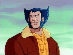 Logan in his civilian outfit